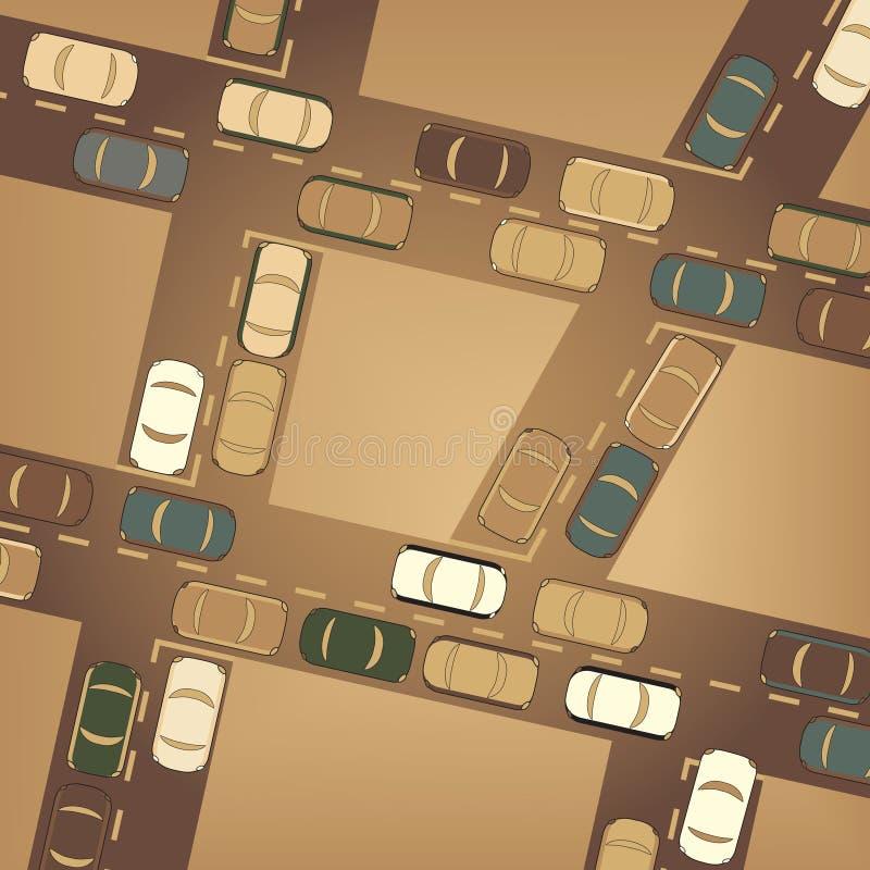 Verkehr vektor abbildung
