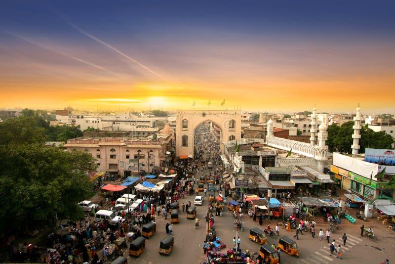 Verkehr in Hyderabad lizenzfreie stockfotografie