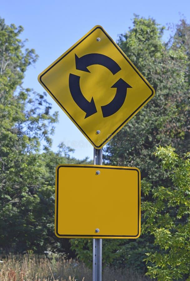 Verkehr - Lebenkreis - Entscheidungen voran lizenzfreies stockbild