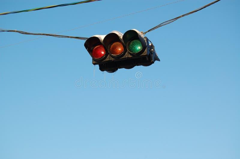 Verkehr-Leuchte lizenzfreies stockbild