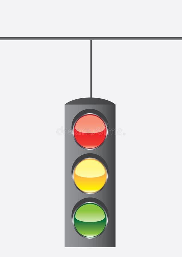 Verkehr-Leuchte lizenzfreie abbildung