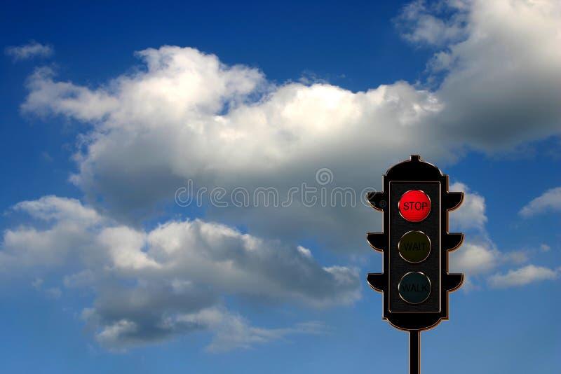 Verkehr-Leuchte Konzept lizenzfreies stockfoto
