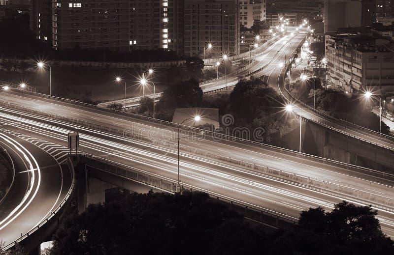 Verkehrsaustausch lizenzfreie stockbilder