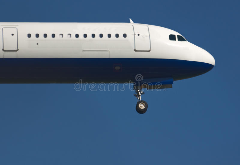Verkehrsflugzeug-Wekzeugspritze lizenzfreie stockbilder