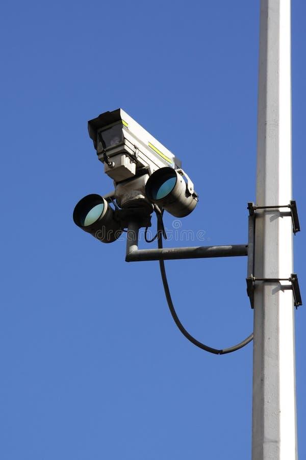 Verkehrskamera lizenzfreie stockfotos