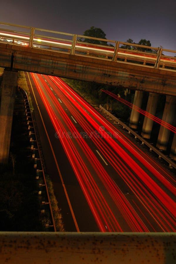 Verkehrsreiche Straßen stockfoto