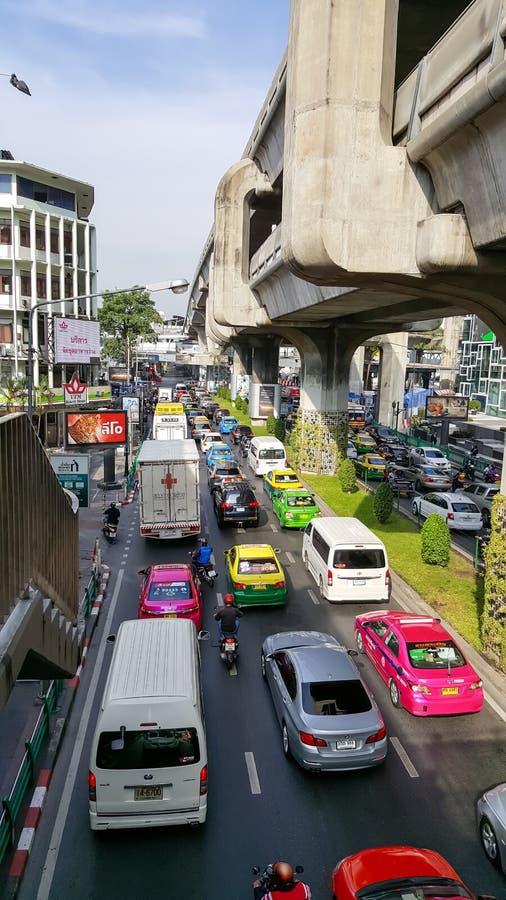 Verkehrsstau lizenzfreie stockfotografie