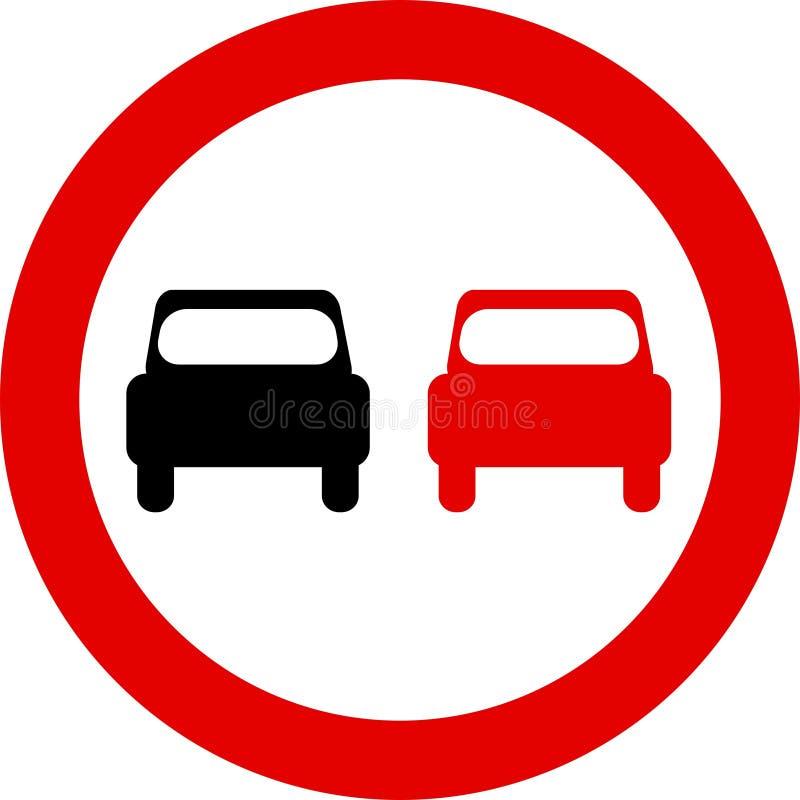 Download Verkehrszeichen vektor abbildung. Illustration von überholen - 31733