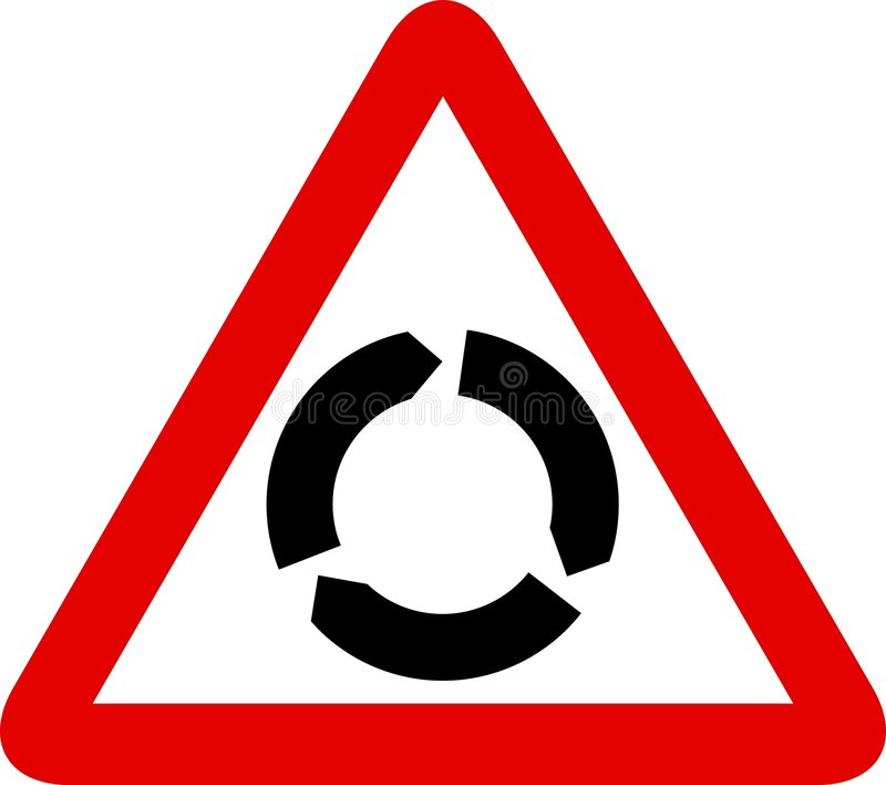 Verkehrszeichen vektor abbildung