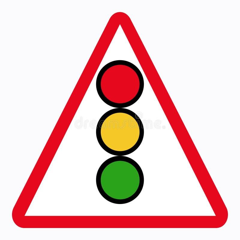 Verkehrszeichen stock abbildung