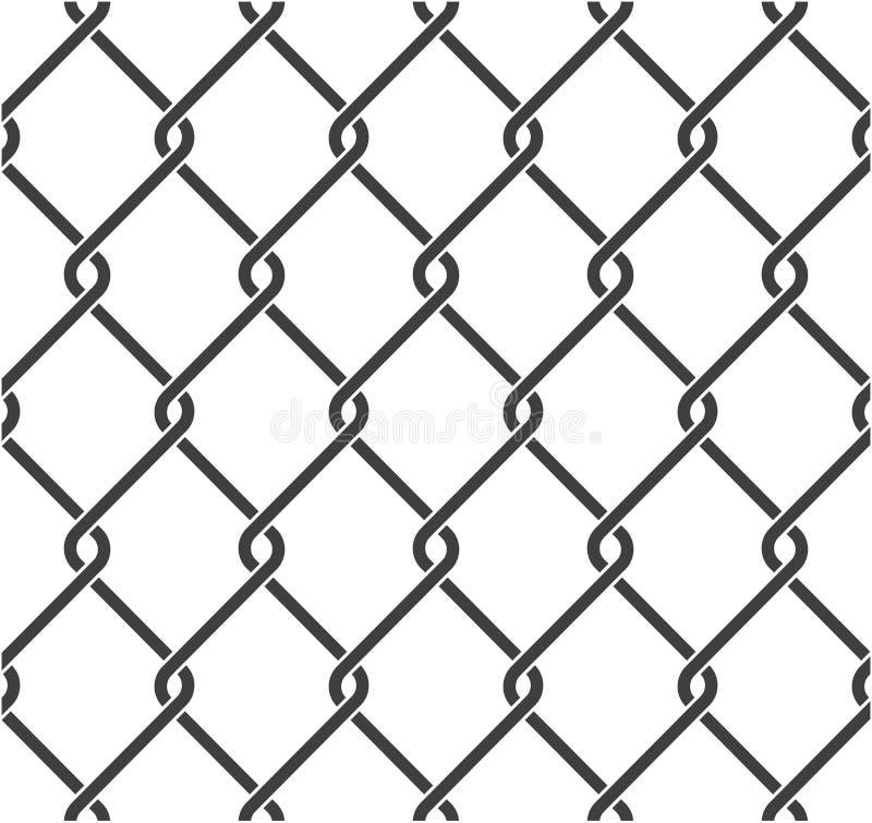Verketten Sie Zaun lizenzfreie abbildung