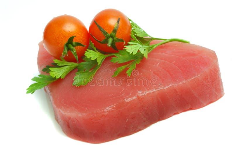 Verkleidung des Thunfischs stockbild