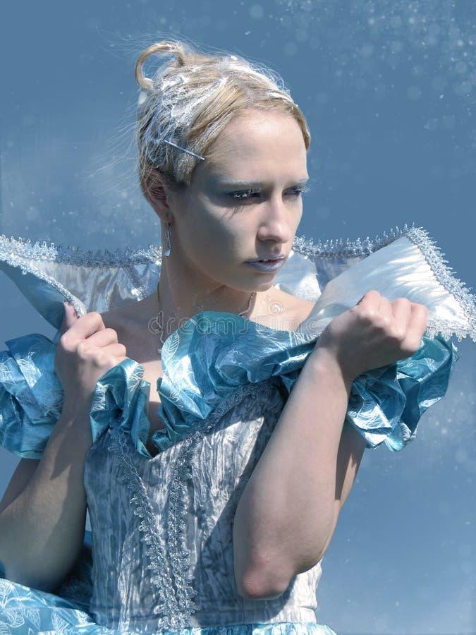 verklig isdrottning arkivfoto