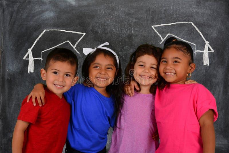 verklig skola för barnklassrumkurs royaltyfri bild