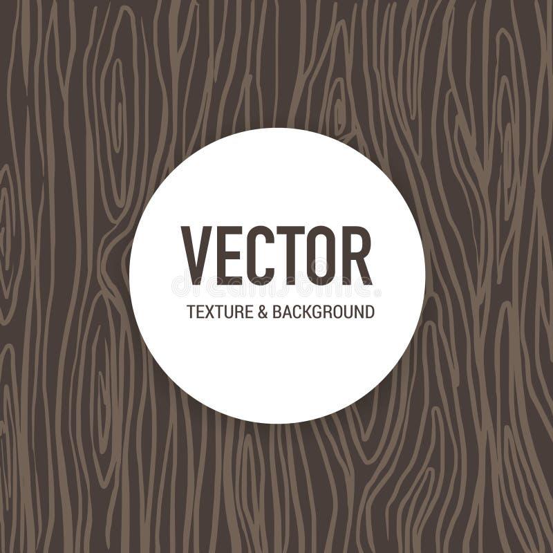 Verklig textur för trä för utskrift och grafisk design för konstverk royaltyfri illustrationer