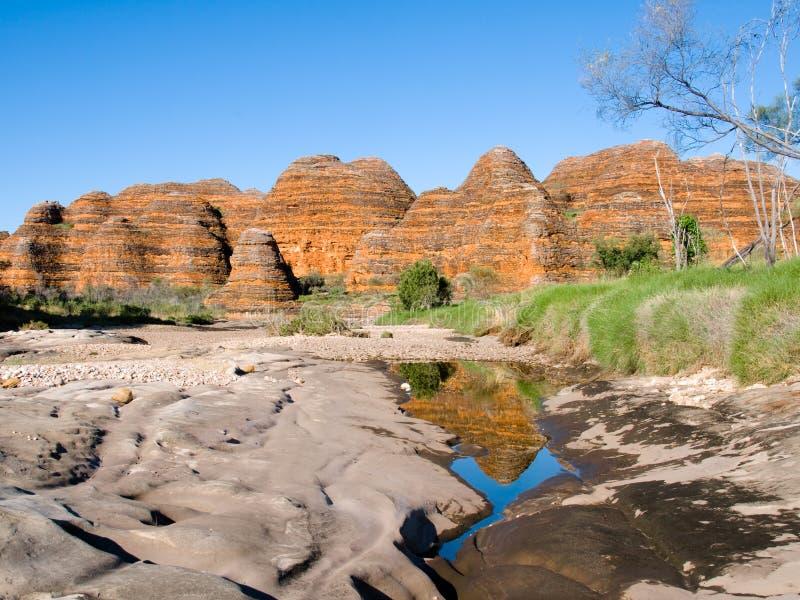 Verknoei verknoeit in Purnululu, Australië royalty-vrije stock afbeelding