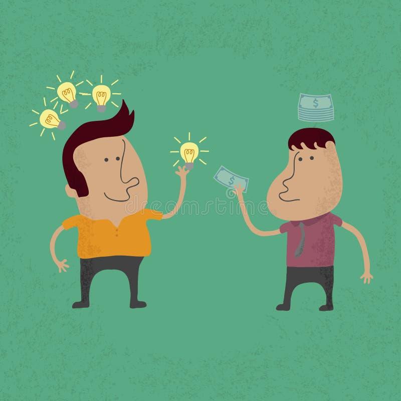 Verkoop het ideeeps 10 formaat stock illustratie