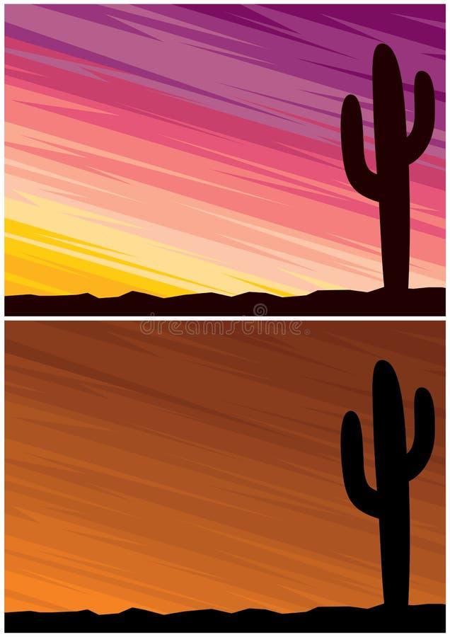 Verlaat Cactus vector illustratie