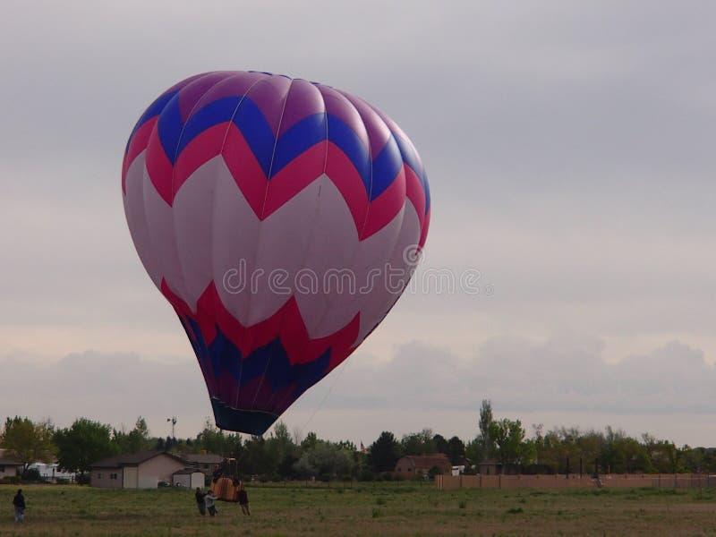Verlagend de Ballons over Co van Brighton stock afbeelding
