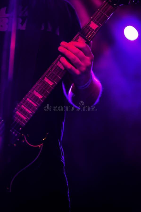 Verlamd Zwart Phoenix tijdens Kristonfest in Madrid Spanje royalty-vrije stock foto