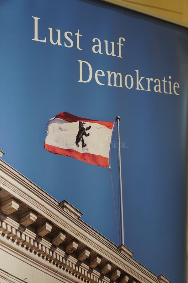 Verlangenauf Demokratie, Wens voor democratie royalty-vrije stock afbeelding