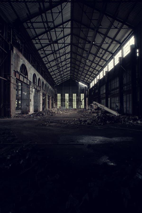 Verlassen setzen Sie vereinigte Fabrik - Youngstown, Ohio ab stockfotos