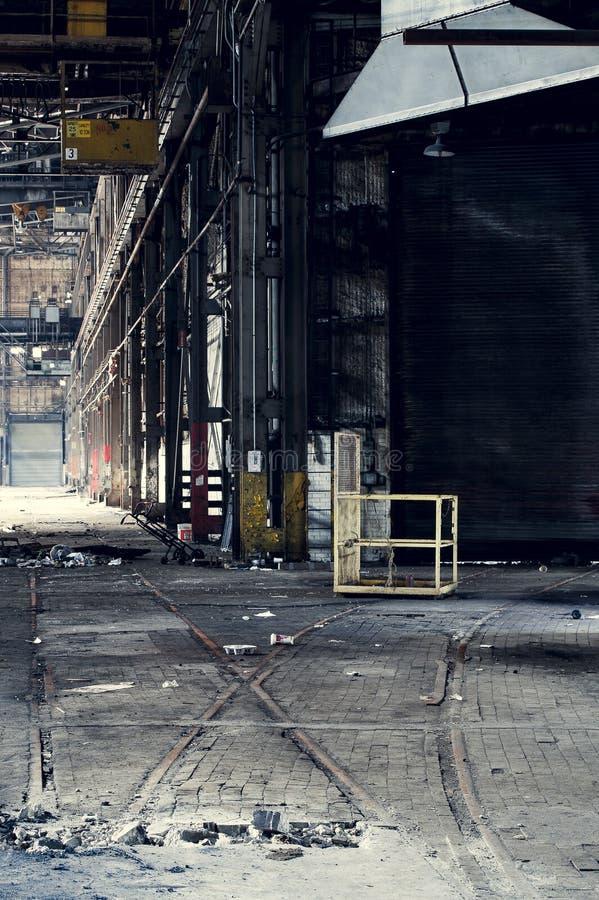 Verlassen setzen Sie vereinigte Fabrik - Youngstown, Ohio ab stockfotografie