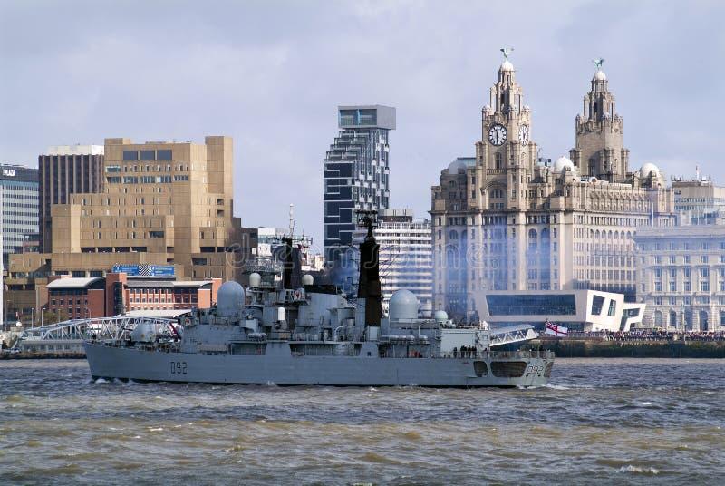 Verlassen von Liverpool stockfotos