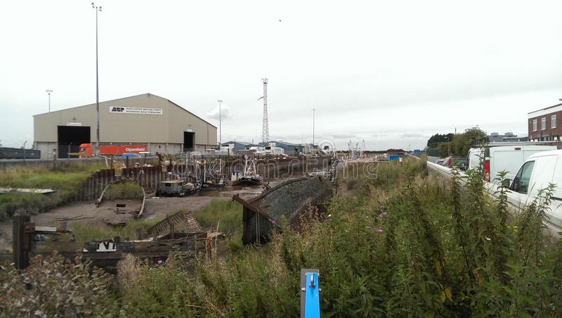 Verlassene Boote lizenzfreies stockfoto