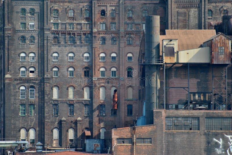 Verlassene Fabrik lizenzfreies stockfoto