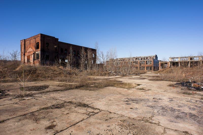 Verlassene Fabrik - Youngstown, Ohio stockfoto