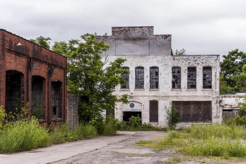 Verlassene Fabrik - Youngstown, Ohio lizenzfreies stockbild