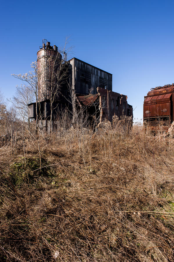 Verlassene Fabrik - Youngstown, Ohio stockbilder