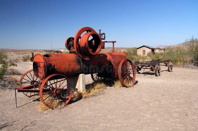 Verlassene Landwirtschafts-Maschinerie stockfotos