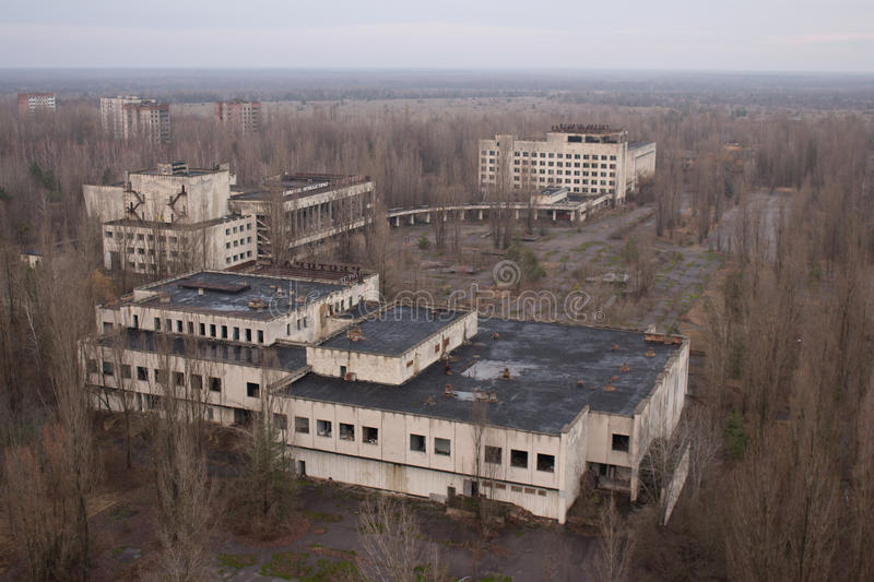 Download Verlassene Stadt redaktionelles stockfoto. Bild von panorama - 90237138