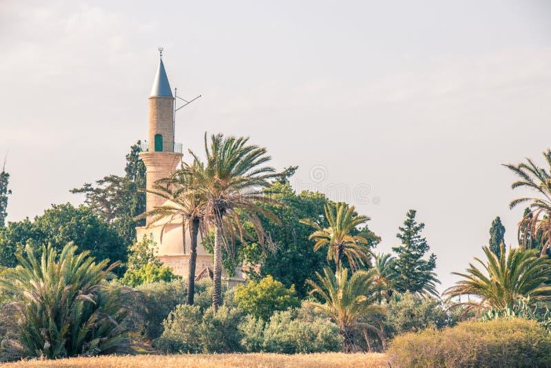 Verlassene türkische Moschee auf Zypern stockbilder