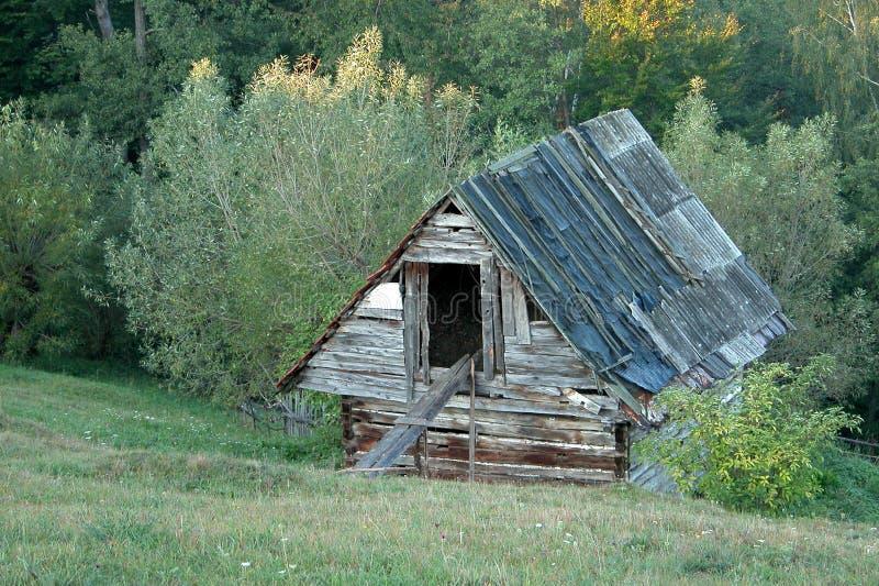 Verlassener Bauernhof stockbilder
