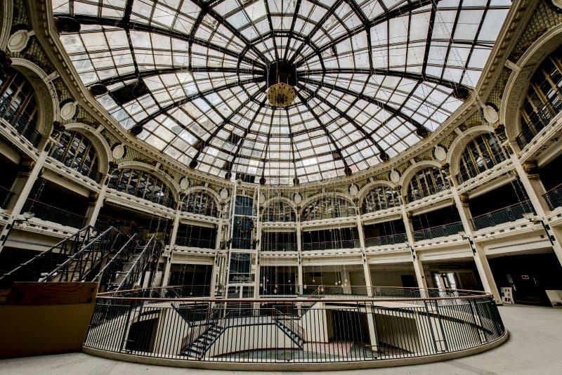 Verlassenes Einkaufszentrum - Dayton, Ohio lizenzfreies stockfoto