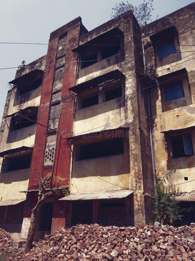 Verlassenes Gebäude stockbild