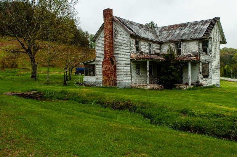 Verlassenes haus- Appalachen - Kentucky stockfoto