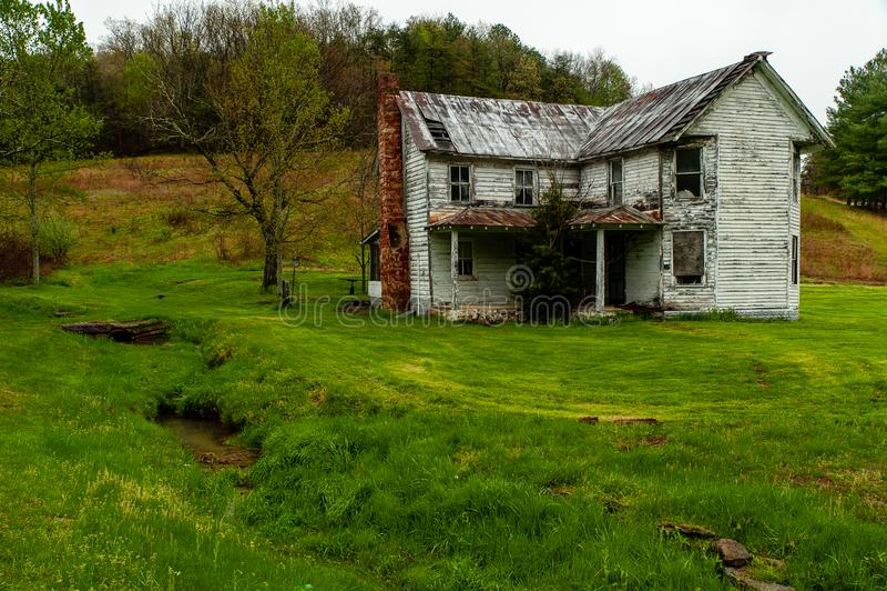 Verlassenes haus- Appalachen - Kentucky stockfotos