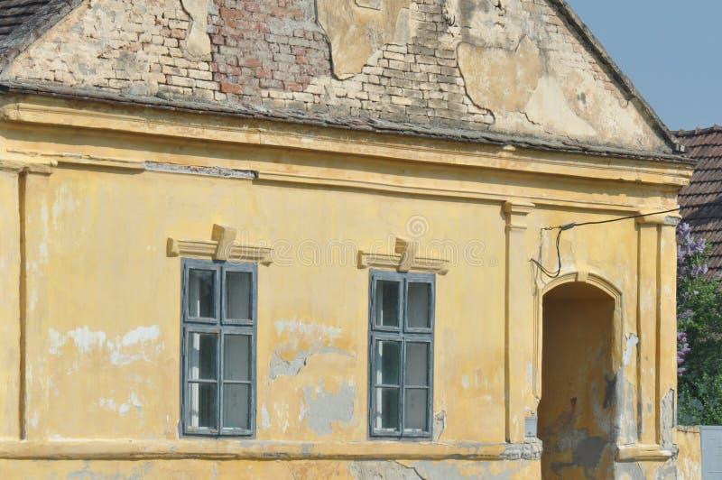 Verlassenes Haus-Detail lizenzfreies stockfoto