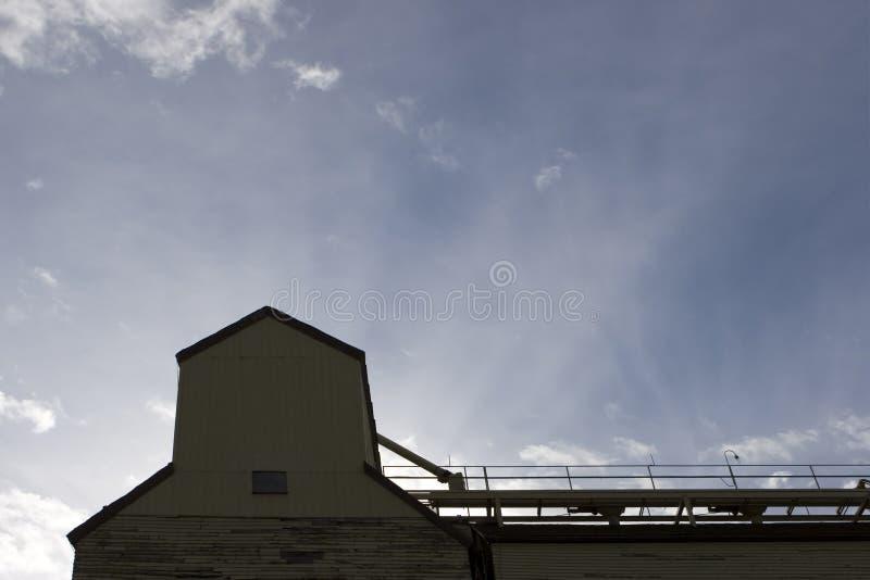 Verlassenes Korn-Höhenruder Stockbilder