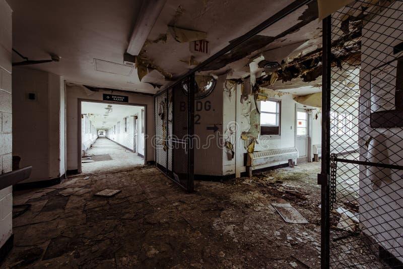 Verlassenes Krankenhaus - Brecksville-Veteranen-Verwaltung - Ohio stockfotografie