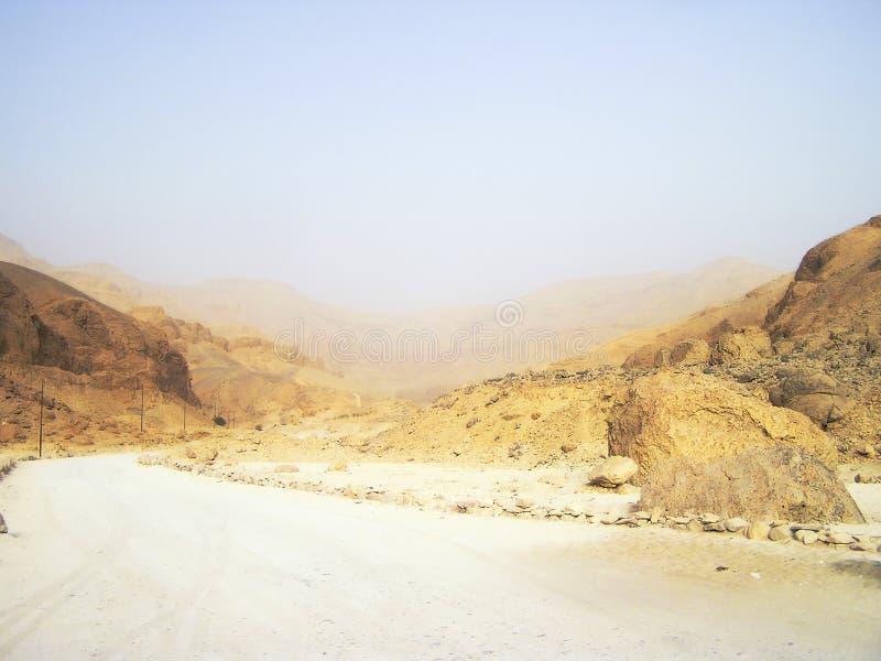 Verlaten binnenplaats 3, Egypte, Afrika royalty-vrije stock fotografie
