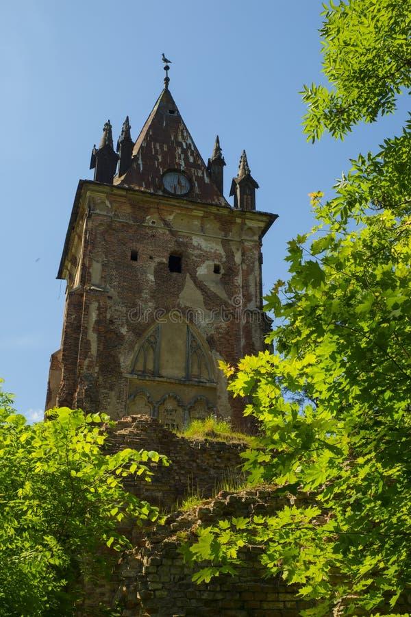 Verlaten Chapelle royalty-vrije stock foto