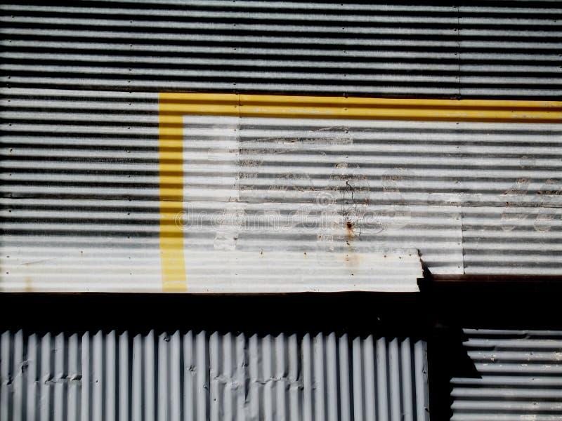 verlaten, de geschilderde bouw, royalty-vrije stock afbeelding
