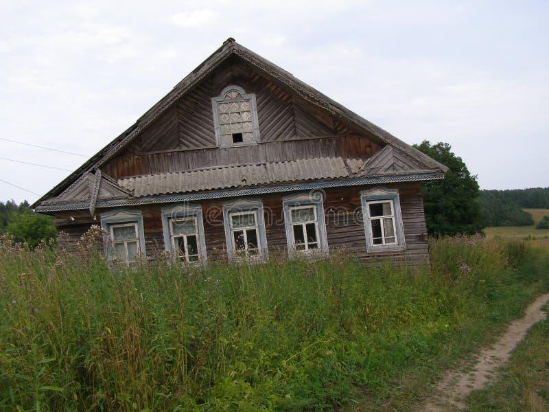 Verlaten dorpen royalty-vrije stock afbeelding
