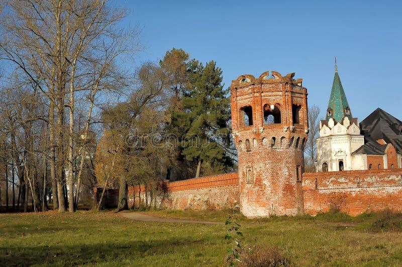 Verlaten Feodorovsky gorodok in Tsarskoye Selo, St Petersburg, royalty-vrije stock foto's