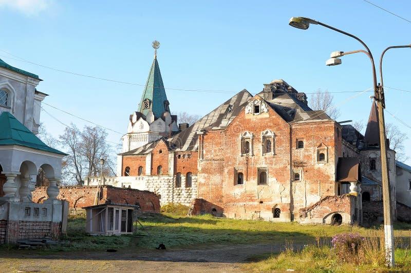 Verlaten Feodorovsky gorodok in Tsarskoye Selo, St Petersburg, royalty-vrije stock foto